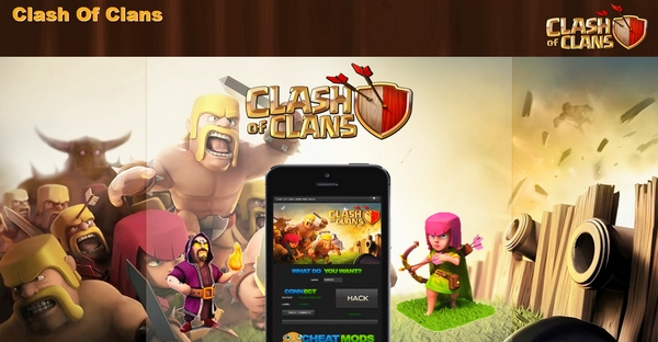 Clash Of Clans Blogspot Template For PPD
