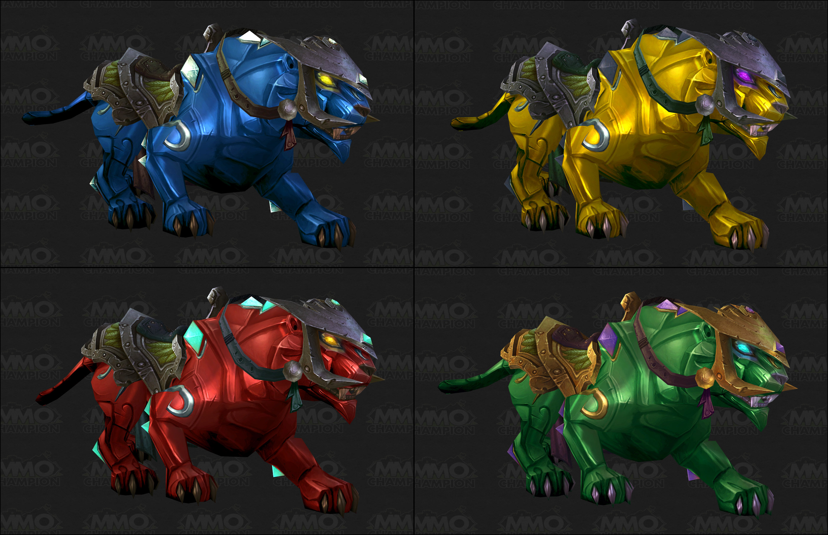 I Will Craft You A Jade Or Sunstone Panther Mount In World