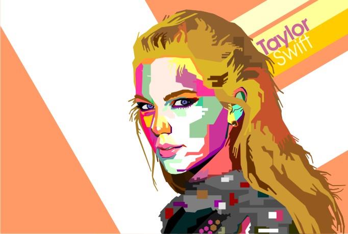 I will transform your photo into WPAP Pop Art