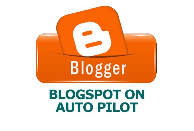 I will make a Blogger Blogspot Autoblog for you