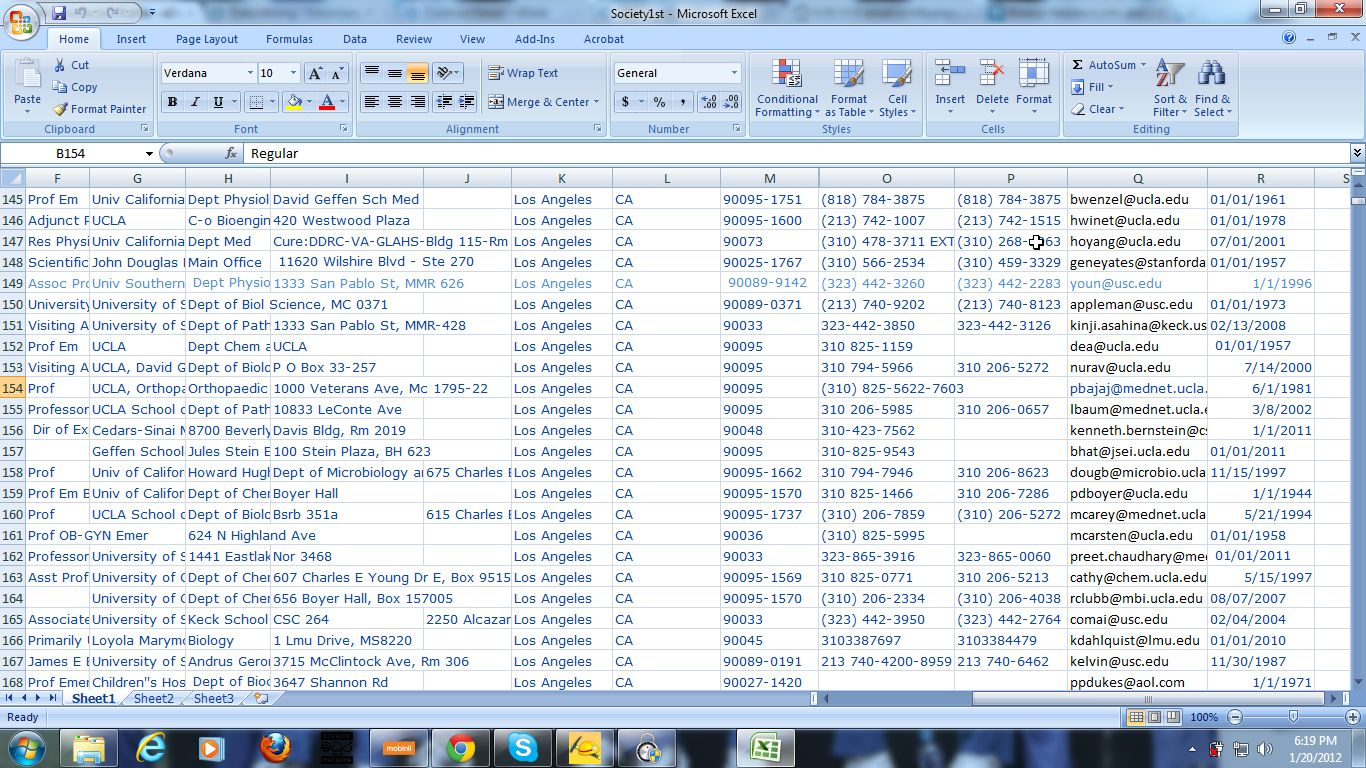 Sell 100k USA top Updated email list with all data such as name ...