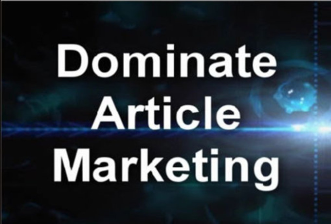 I will submit your article MANUALLY to 15 sites or top article directories