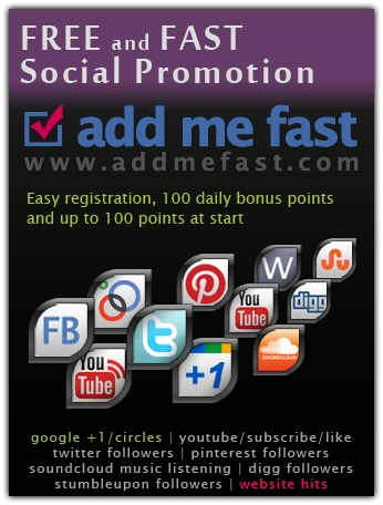 get u BOT for addmefast with the help of u can get more than 10,000+ facebook likes or twitter followers
