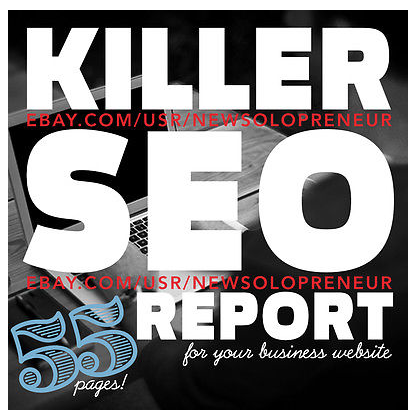 Ultimate SEO 55+ Pages Report for Website Search Engine Optimization Ranking