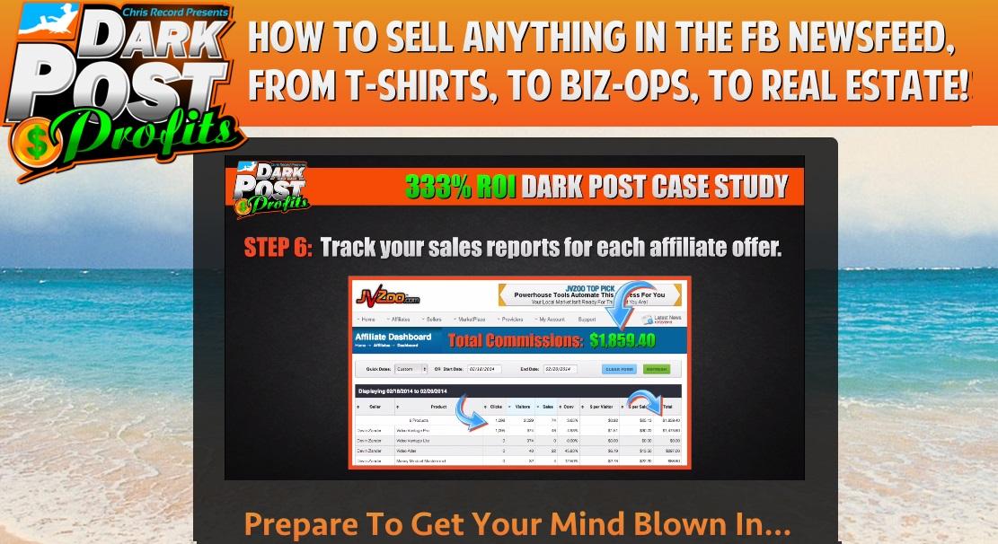 Dark Post Profits By Chris Record