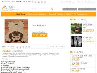 Lion Kids Rug Sponsored Blog Review