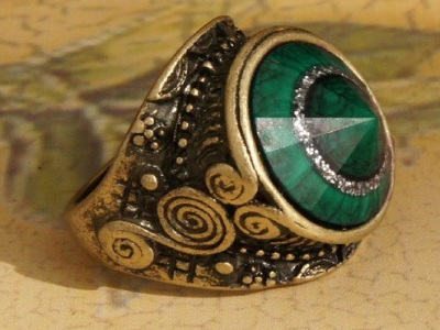 Egyptian Magic Ring For Wealthy Love Protection Spells