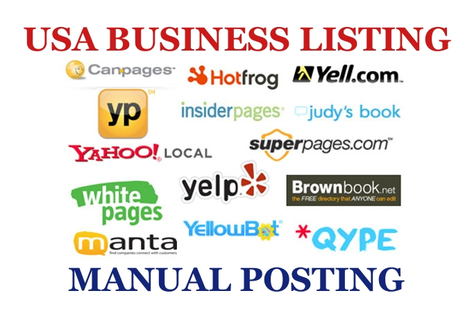 do 35 local business listing in high Page rank US directories or citations