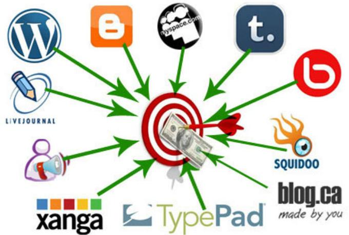 I will create a mini private blog network for 5