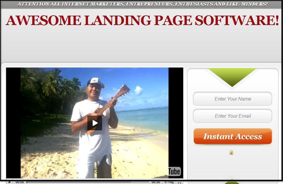 give Exclusive Access to my Landing Page Software and More