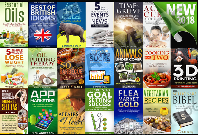 I Will Design Professional Ebook Cover Or Kindle Cove...