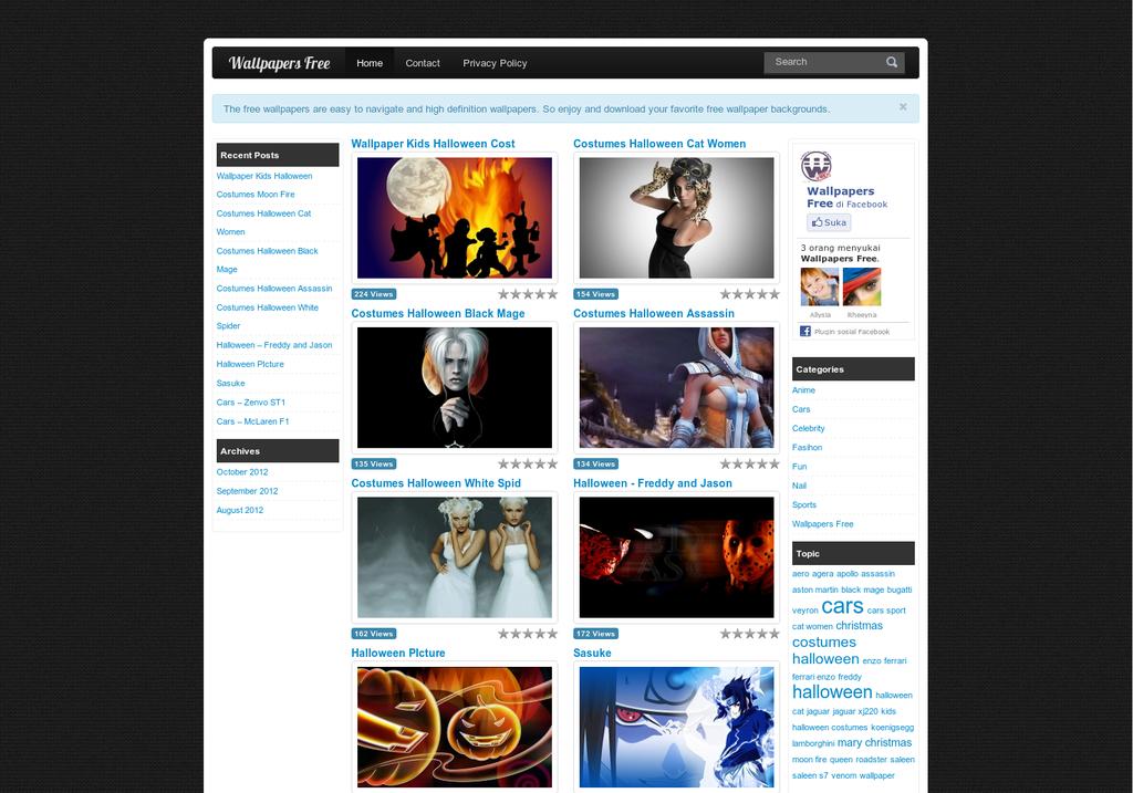 Perfect Wallpaper Wordpress Theme Embellishment - Professional ...