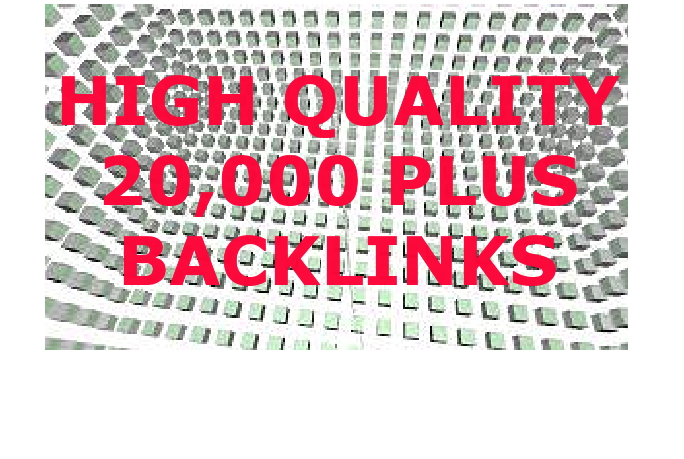 I Will Drive 20000+ HIGH QUALITY BACKLINKS TO YOUR URL/Website/App Link