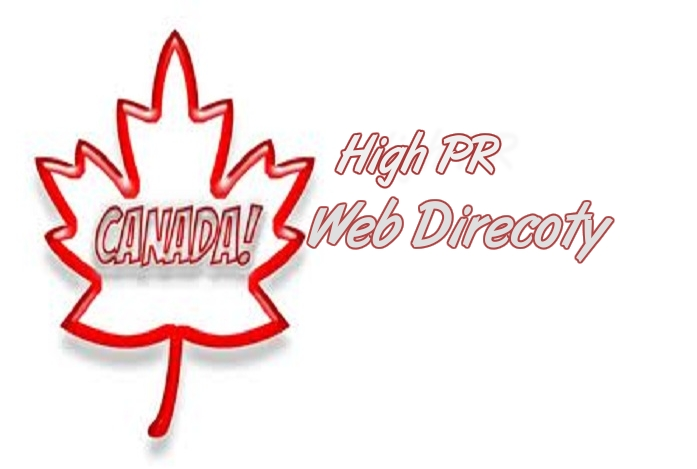 i will submit Awesome 50 high PR safe Canada Webdirectory