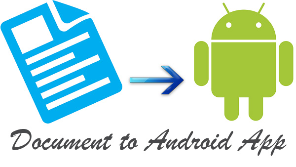 I will convert any Document to An Android App