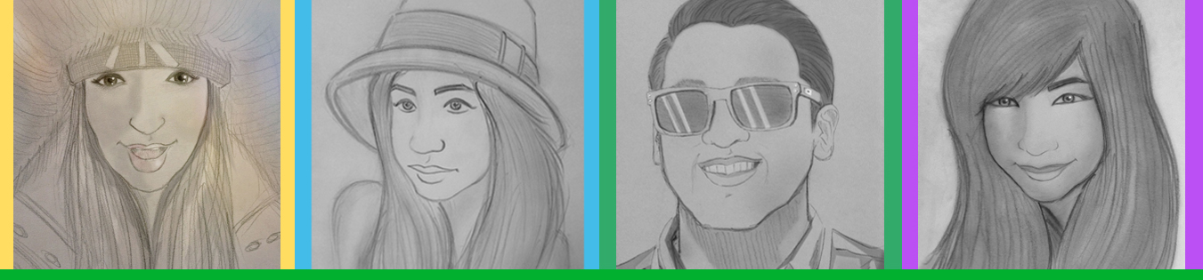 I will create a hand drawn sketch of you in my own style for 5