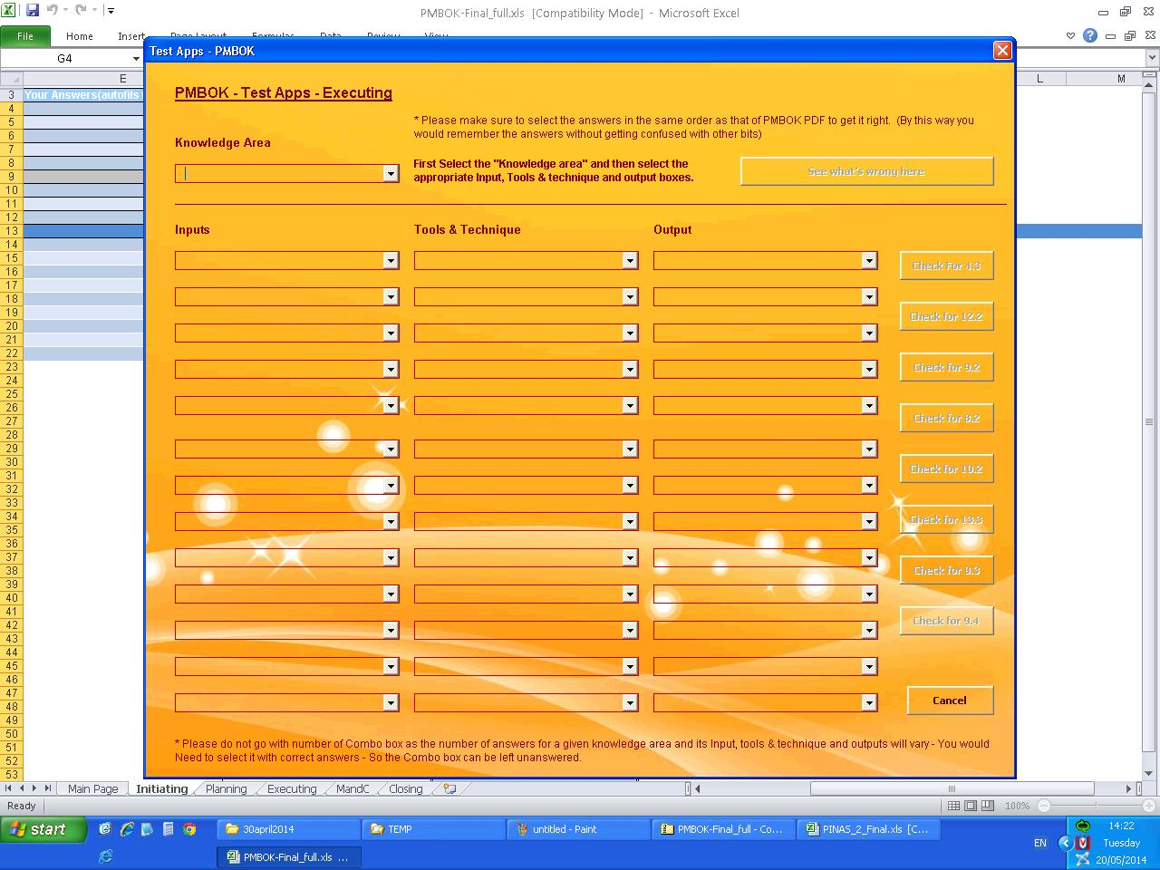 I Will Give You A Pmp Application To Test Your Project Management