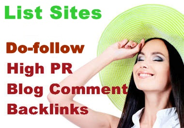 Get 100k+ High PR Do-Follow Blogs Commenting Sites For Blog
