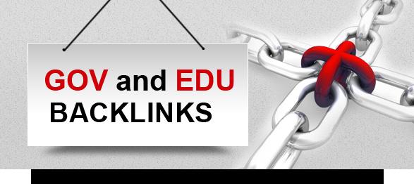 GET ON TOP WITH EDU AND GOV BACKLINKS 23 Edu link Only pr8 to pr6