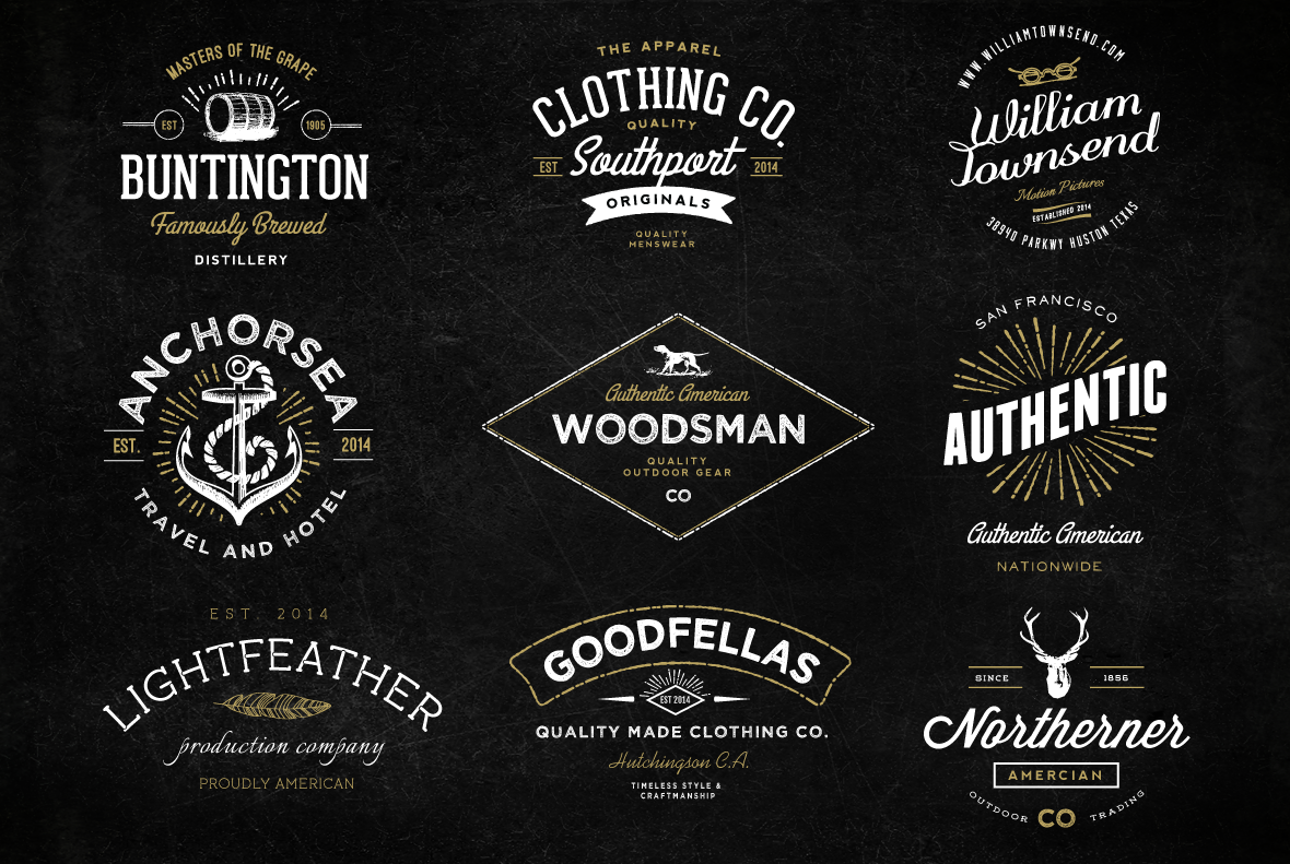 I Will Create Professional Vintage Retro Logo or Badge for $5 ...