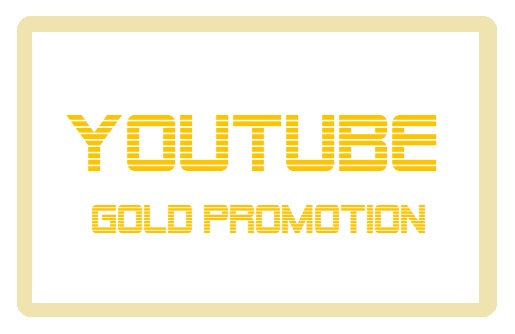 Organic YouTube Video Promotion Gold Promotion Package