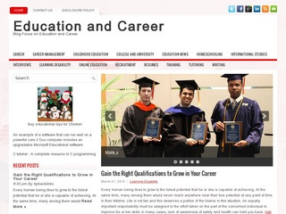 Education and career blog Sponsored Blog Review