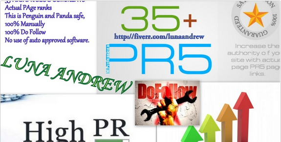 provide you with Manually DoFollow HIGHPr 40 Blog Comments on Actual PR sites