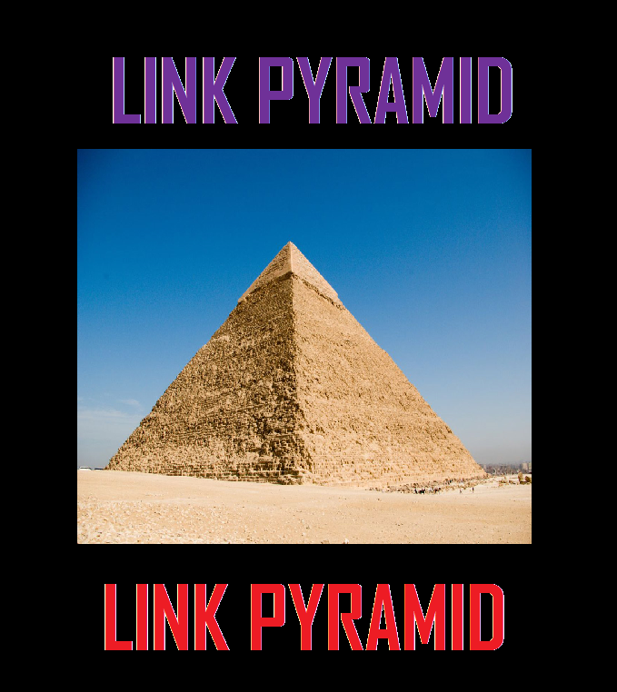Build Links Pyramid Consist Of 15000 Profile Link as Tier 2 and 30 High PR Links as Tier 1