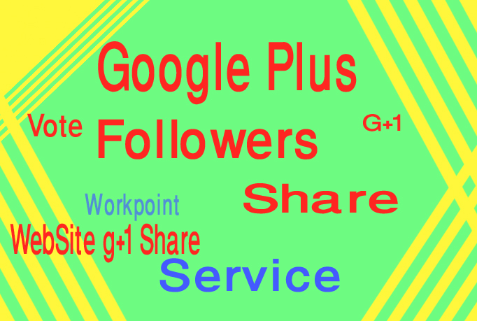 I give your site 100 G+ Google plus only