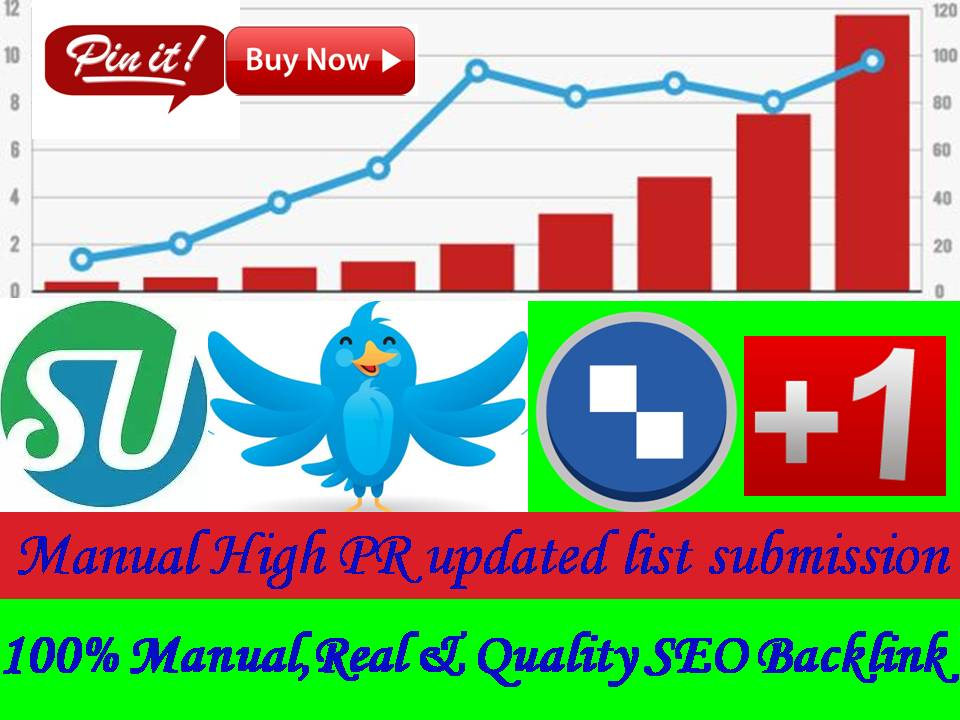 Blast Your Site To 10+ Social bookmark SEO backlinks and ping for $5