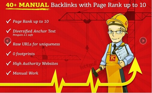 manually Do 40 Pr 10 SEO High Page Rank Backlinks