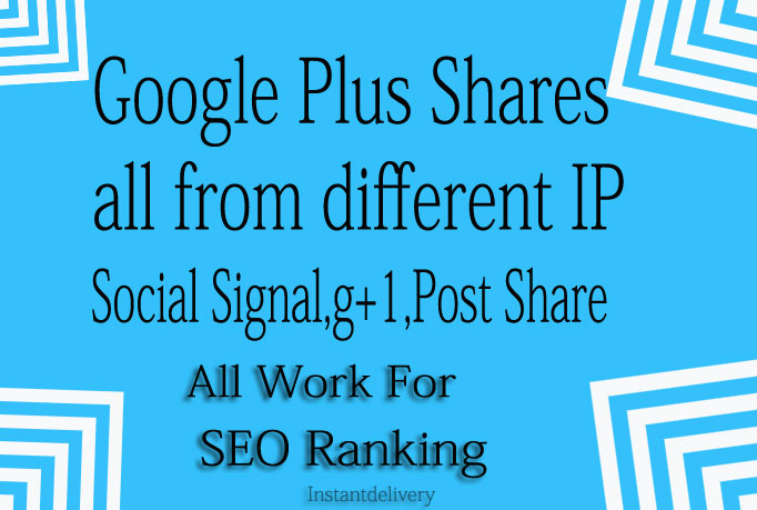 I Provide you 260 Genuine Google +1 Plus One Vote Only