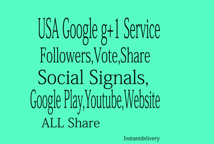 I get you 270 Genuine Google +1 Plus One Vote Only