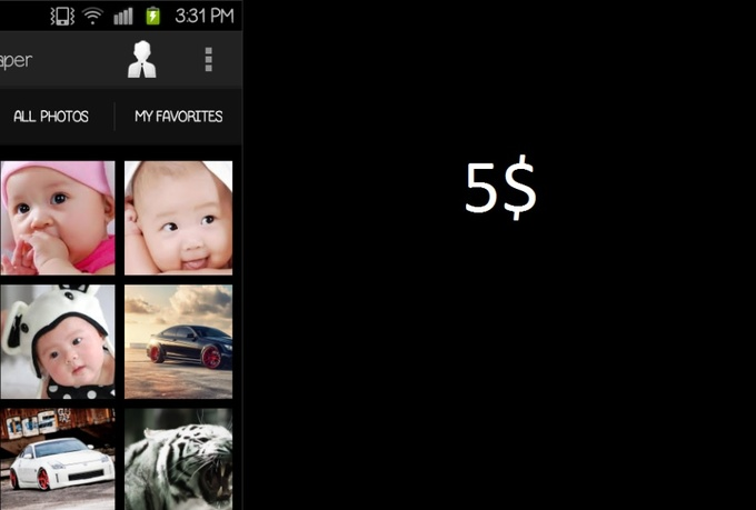 I will sell  Wallpaper Source Code World Most Popular APP