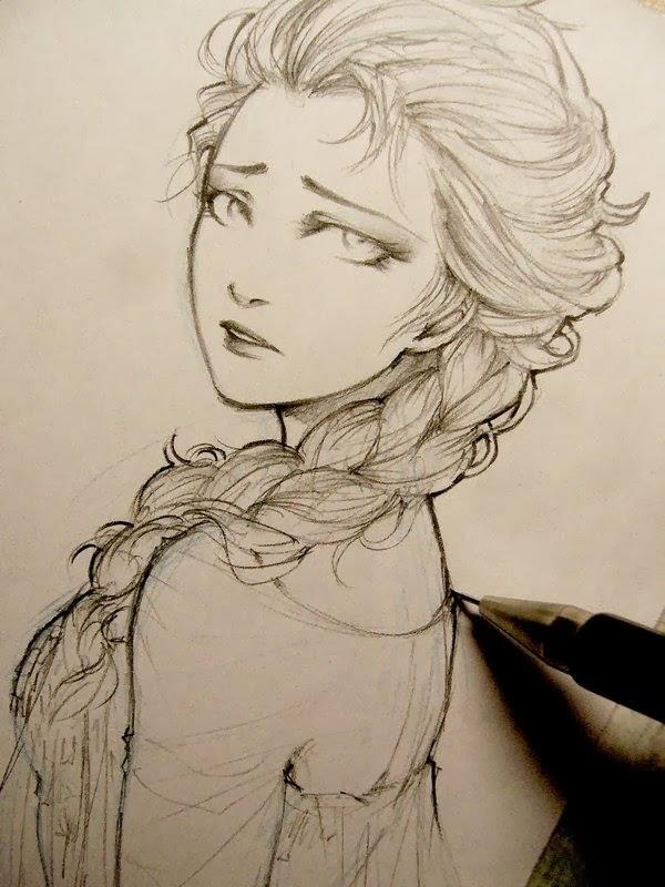 turn 5 of your pictures into pencil sketch for $25 - SEOClerks
