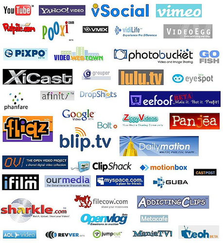 Create a Video and Upload Video in 25 High Page Rank Sites