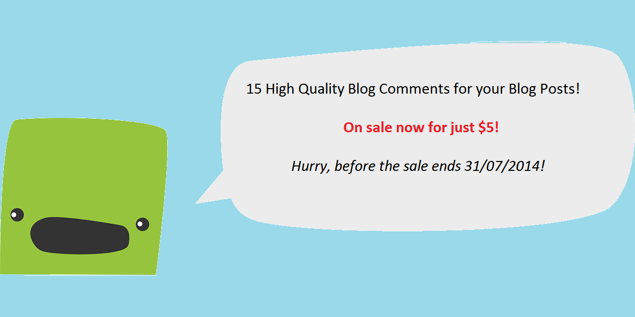 Post 15 High Quality Blog Comments on Your Posts