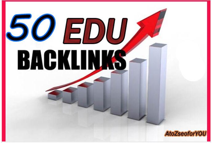 I will do 50 HPR EDU backlink for your website