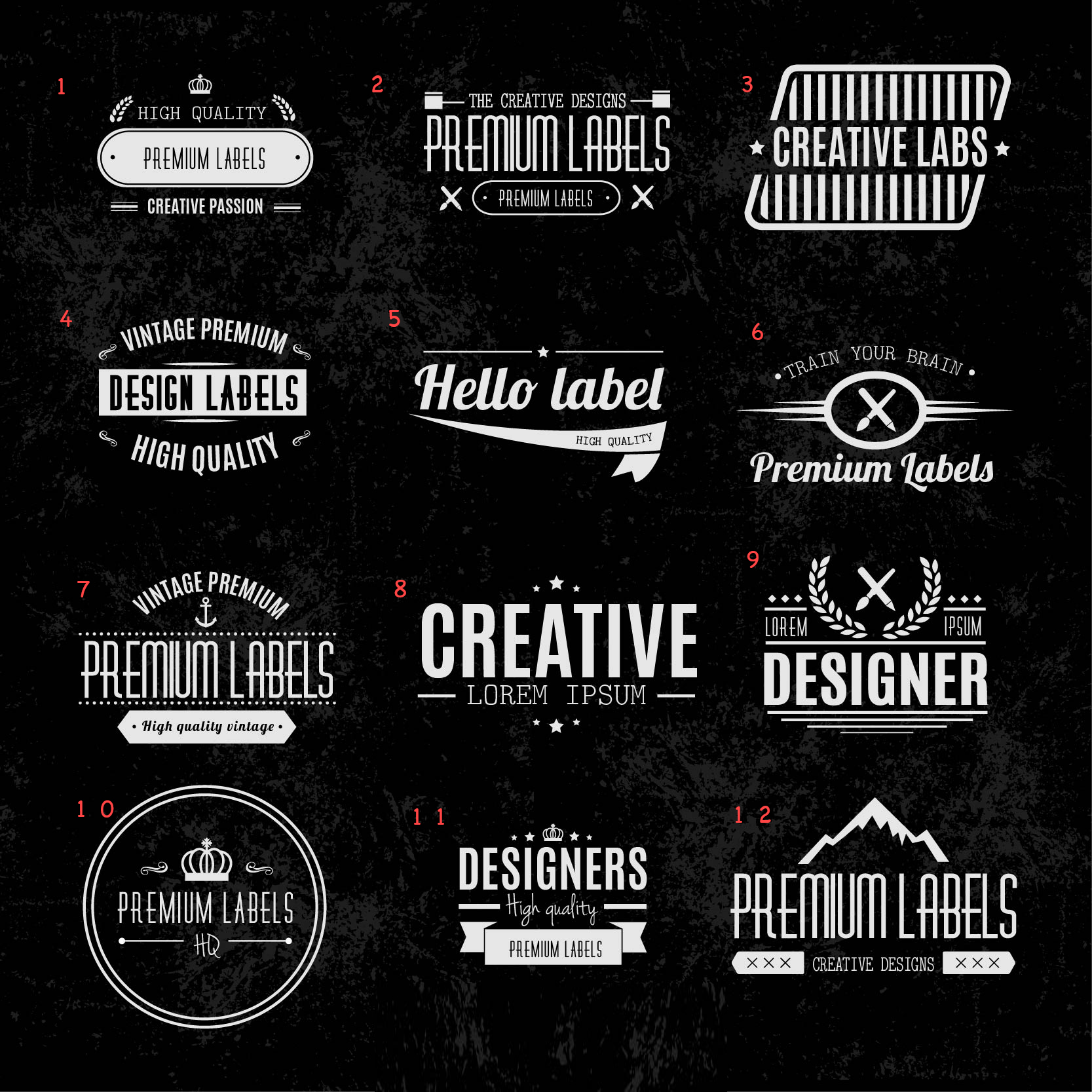 I will create a Vintage and Cool LOGO for you or your website