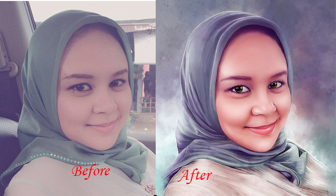 I will turn your photo into a dgital painting for 15
