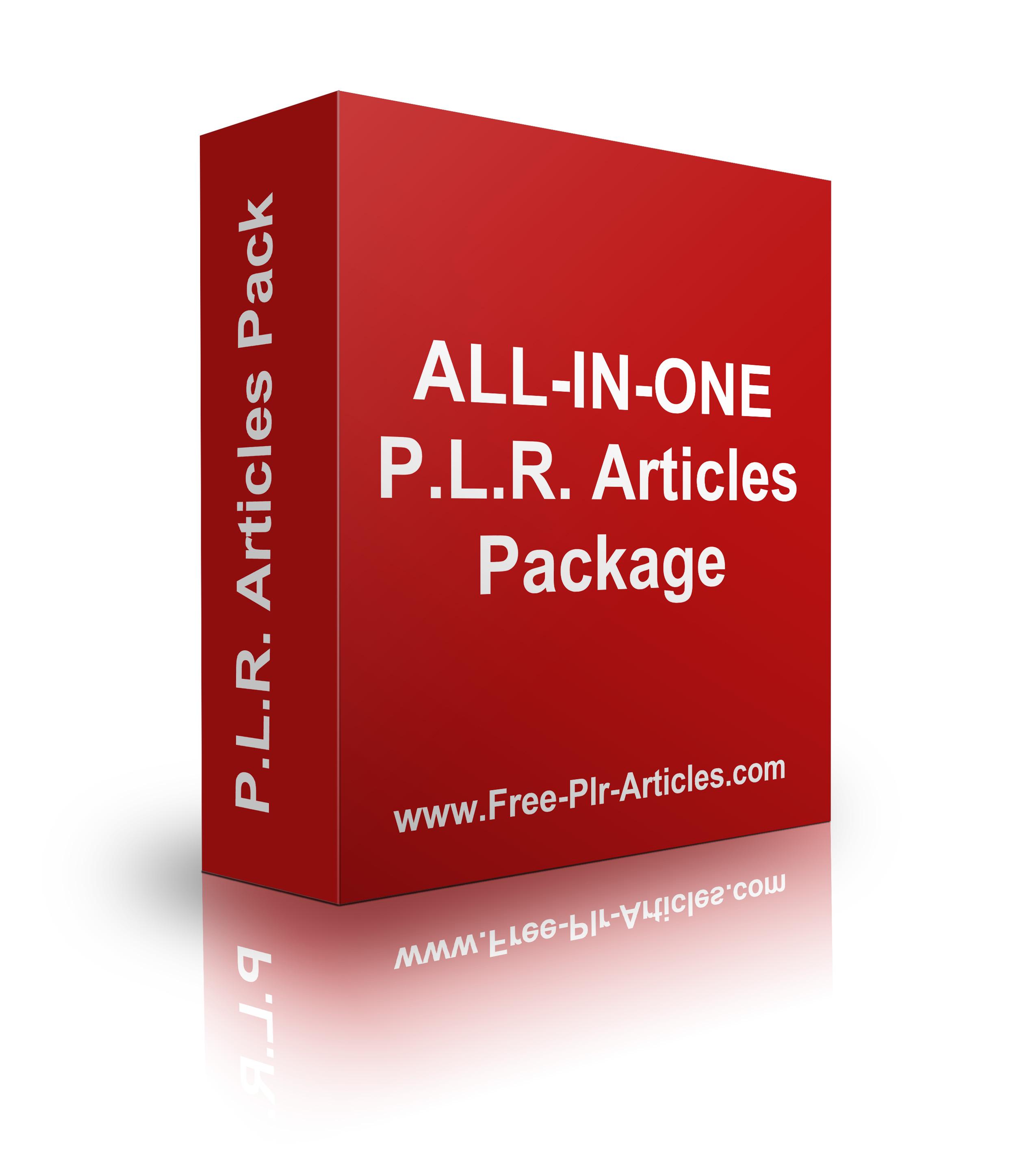 I will Give U 140K PLR Articles
