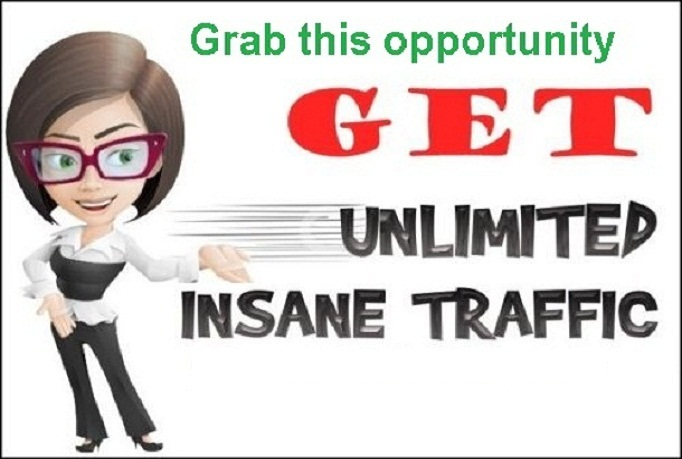 generate Unlimited real TRAFFIC To Your Website