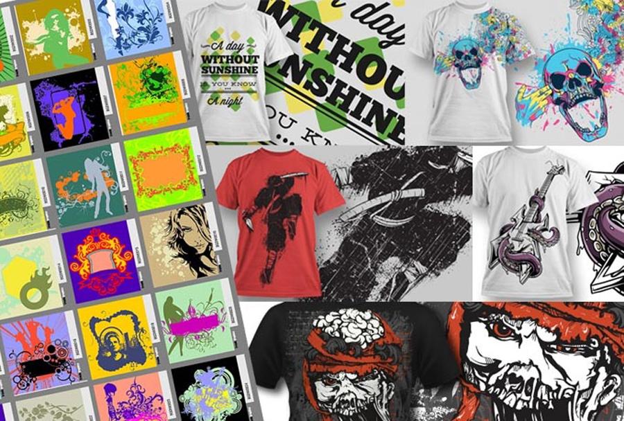 give 400 premium EPS T Shirt vector designs