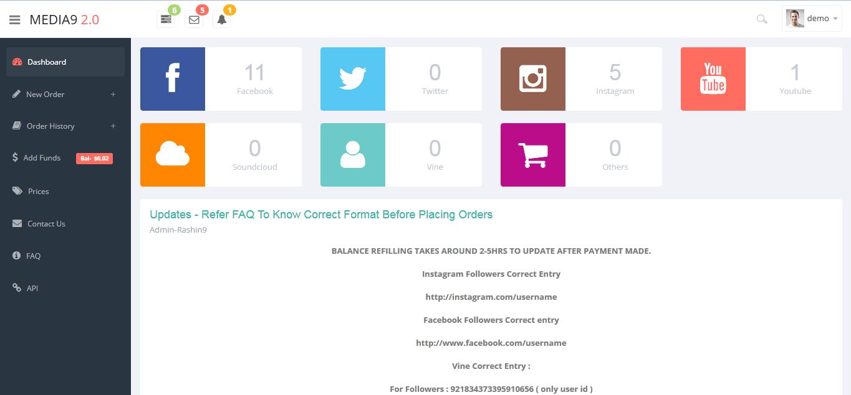 social media marketing smm panel available for seoclerk resellers