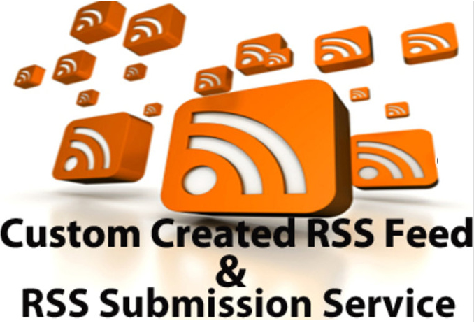 create a Custom RSS feed with 12 Backlinks Submit feed to Over 175 Directories