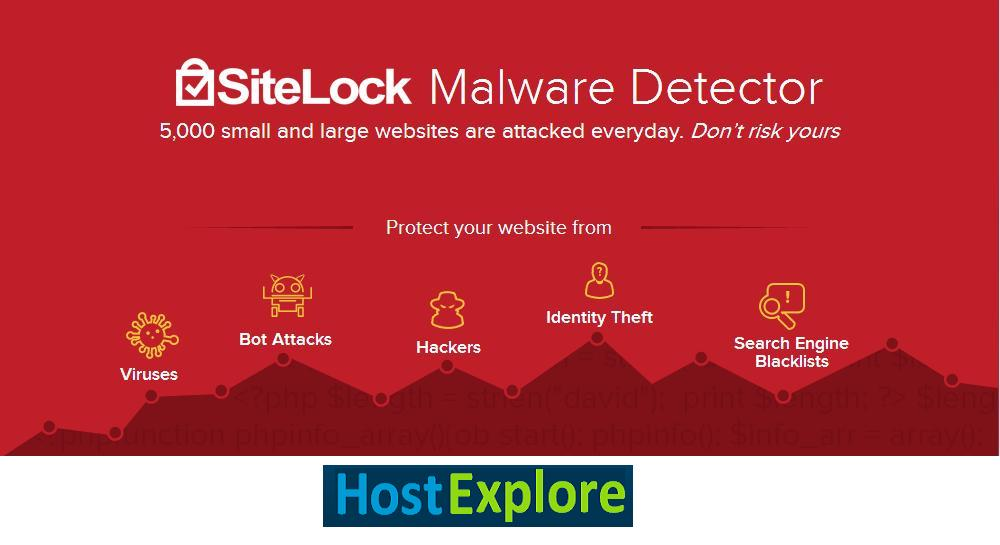 Secure your websites with SITELOCK