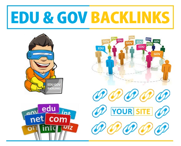 Create 18 Edu and Gov profile links for your blog