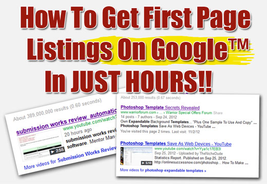 Make your website on google 1st page with my seo