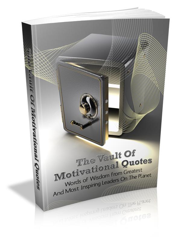 Vault of Motivational Quotes PLR