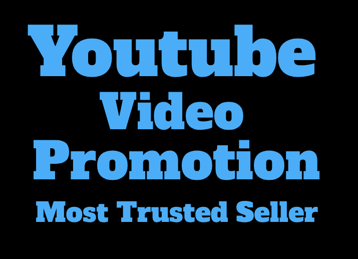 GENUINE YOU-TUBE VIDEO PROMOTION 1k